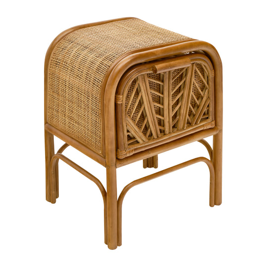 Bamboo French Vintage Side Table