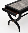 Louis XVI Style Ebonized Coffee Table