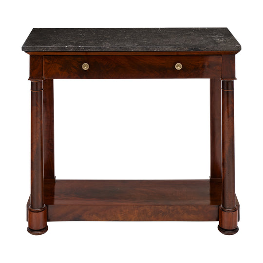 Empire Period Console Table