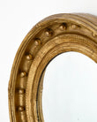 Gold Leafed French Antique Mirror