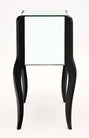 French Art Deco Period Mirrored Side Tables
