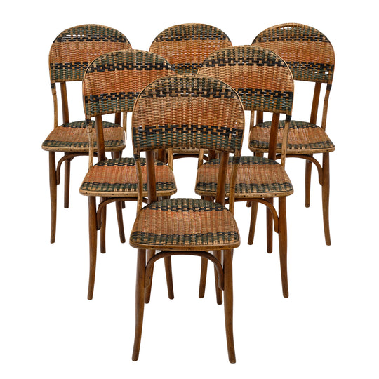 Austrian Thonet Bistro Chairs