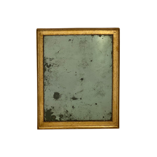 18th Century Gold Leafed Antique French Mirror