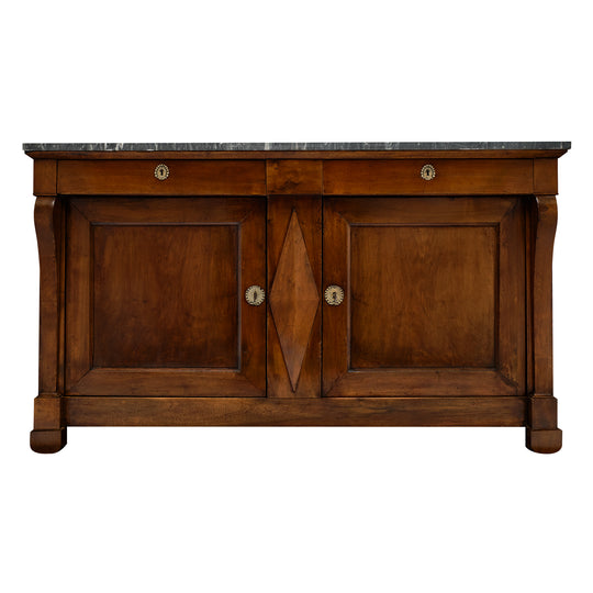 Restauration Period Buffet with Marble Top