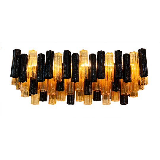 Murano Glass Tronchi Chandelier by Alberto Dona