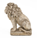 Art Deco Period Stone Lion