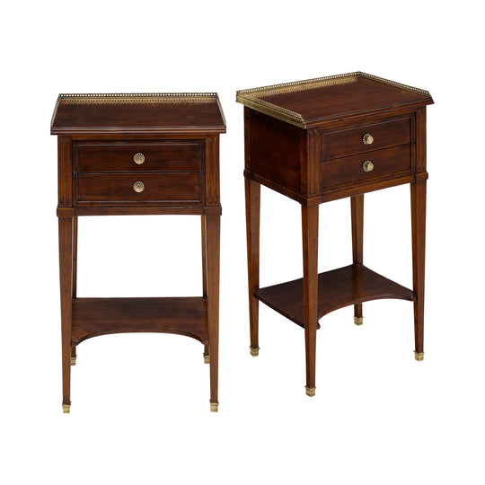 French Antique Louis XVI Style Side Tables