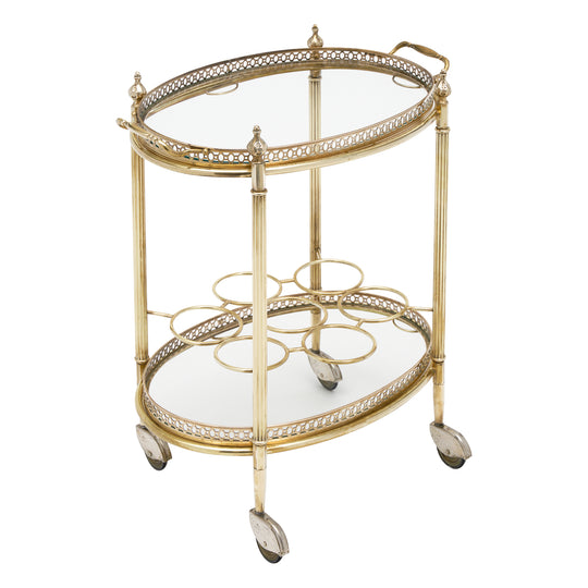 French Art Deco Period Bar Cart