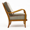 Austrian Modernist Walnut Armchairs