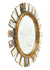 Sunburst Mirror in the manner of Line Vautrin