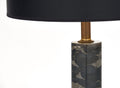 French Modernist Marble Table Lamp