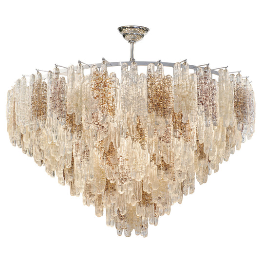Murano Glass Chandelier by Fratelli Toso