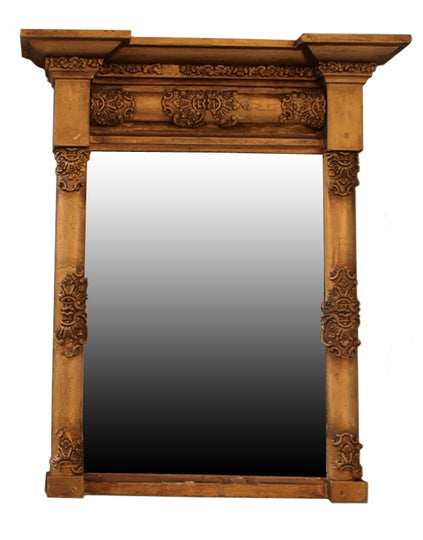 French Antique Neo Classic Mirror
