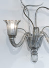 Pair of Whimsical Murano Glass Sconces