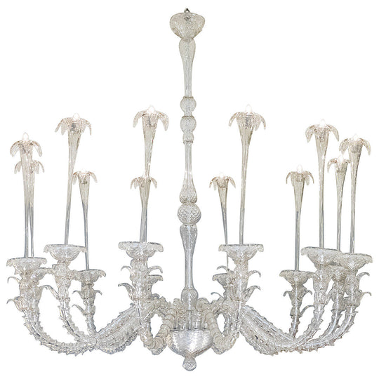 Murano Glass Rezzonico Fountain Chandelier