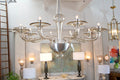 Cristallo Pura Murano Glass Chandelier
