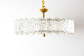 Stamped Murano Glass Chandelier
