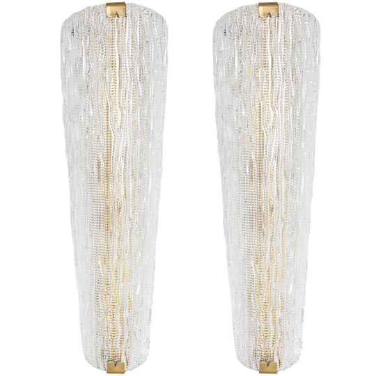 Stunning Murano Glass Sconces by Barovier