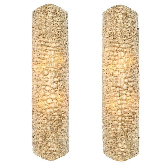 Large Murano Glass Wall Sconces