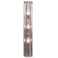 Single Murano Glass and Chrome Sconce