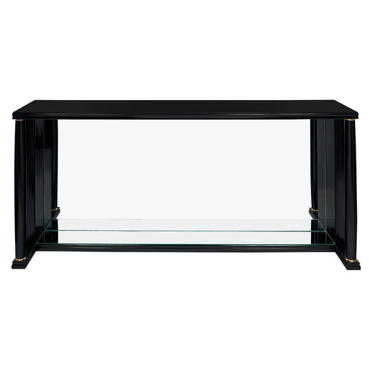 Empire Style Vintage Mirrored Console Table