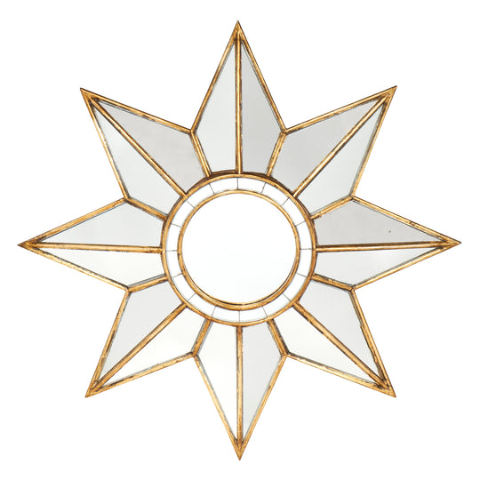 French Vintage Star Mirror