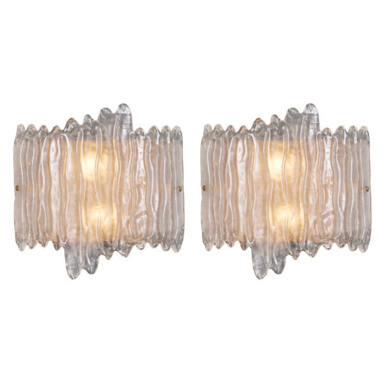 Murano Glass Organic Wall Sconces