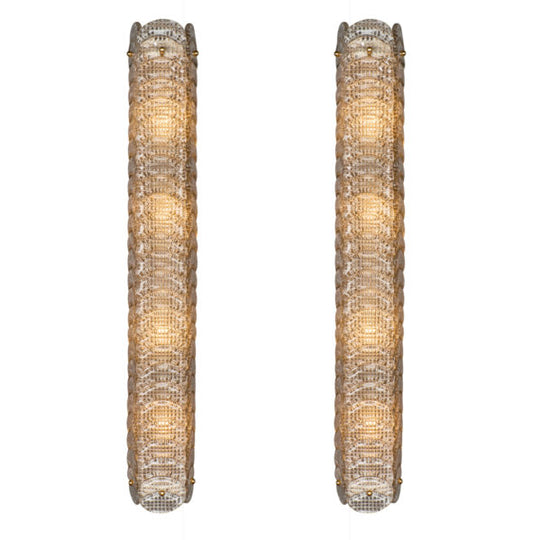 Textured Murano Glass Sconces