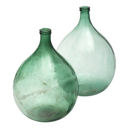 Antique French Glass Wine Jugs