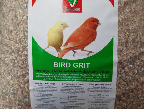 Bird Grit With Anise - Vainqueur