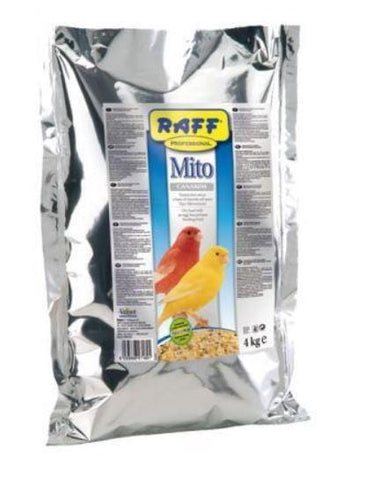 RAFF Mito Canarini. Bird Food. Available at this online bird supply store / pet shop