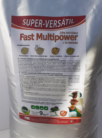super-versatil fast multipower bird food