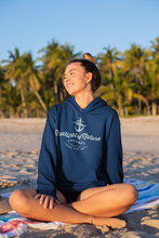 Load image into Gallery viewer, Seas The Day ALL BLUE Hoodie (unisex)