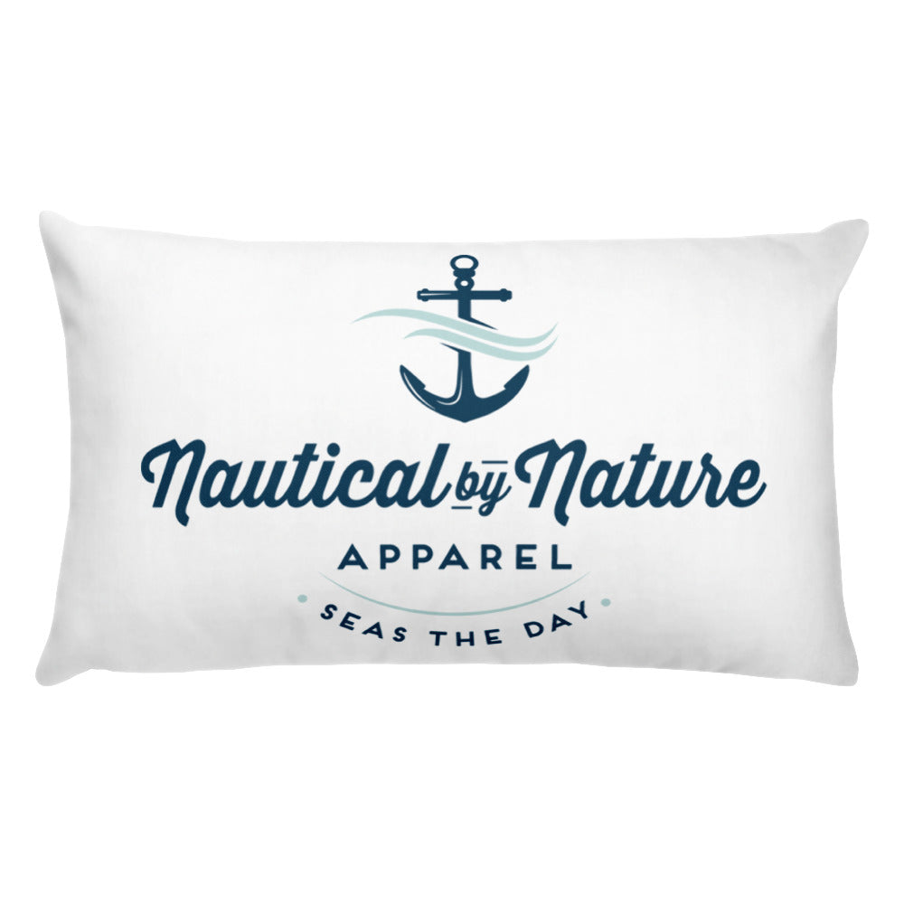 20x12 Nautical By Nature Throw Pillow
