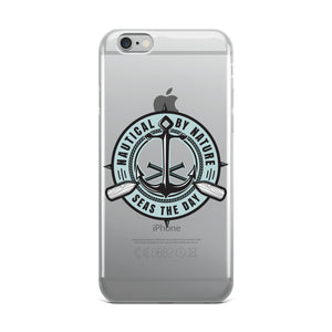 Nautical By Nature iPhone Case