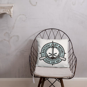 Nautical By Nature 18 x 18 Throw Pillow