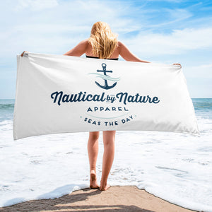 Nautical By Nature Beach Towel