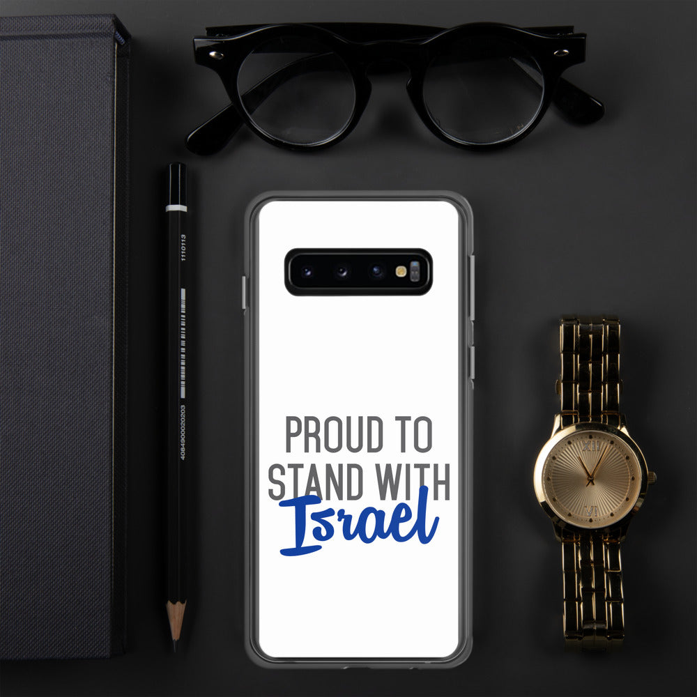 Proud to Stand With Israel Samsung Case