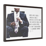 When I was a child. . . 1 Corinthians Chapter 13:11 Horizontal Framed Premium Gallery Wrap Canvas
