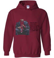 When I was a child. . . 1 Corinthians Chapter 13:11 Gildan Heavy Blend Hoodie