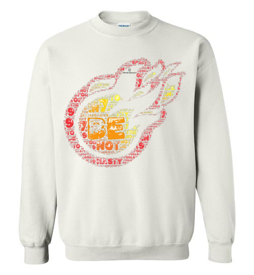 Be not hasty. . . Ecclesiastes 7:9 Gildan Crewneck Sweatshirt