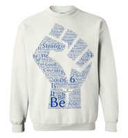 Be Strong. . . Deuteronomy 31:6 Gildan Crewneck Sweatshirt