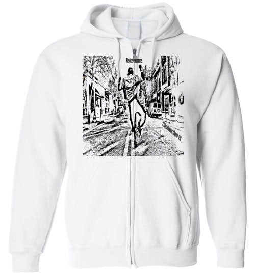 Rejoice evermore. 1 Thessalonians Chapter 5:16 Gildan Zip Hoodie