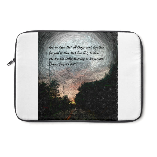 And we know. . . Romans Chapter 8:28 Laptop Sleeve