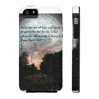 And we know. . . Romans Chapter 8:28 Case Mate Tough Phone Cases
