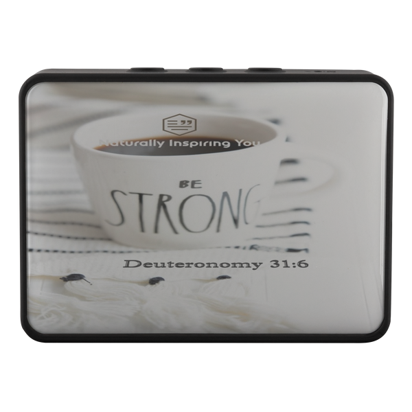 Be Strong. . . Deuteronomy 31:6 Bluetooth Speaker - Boxanne