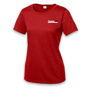 Ladies Microfiber Scoop Neck Shirt