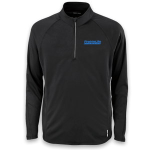 Men's Half-Zip Performance Long Sleeve Top
