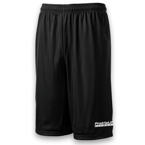 Mens Extra Long Mesh Shorts