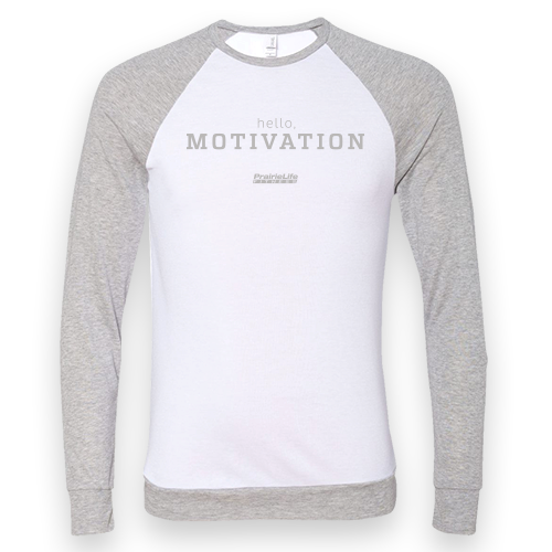 Hello Motivation Raglan